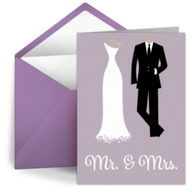 Mr. and Mrs. card image
