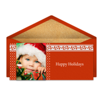 Holly Stripe card image