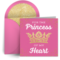 Princess of My Heart card image