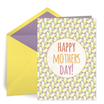 Mother's Day Pattern card image