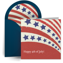 Red White & Blue card image
