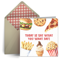 Eat What You Want | May 11 card image