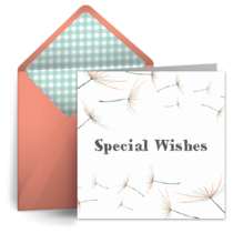 Special Wishes card image