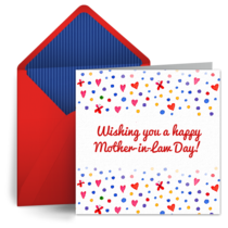Mother-in-Law Day | Oct 27 card image