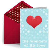 Wonders of His Love card image