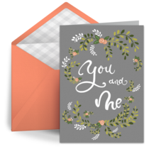 You + Me card image