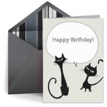 Kitty card image