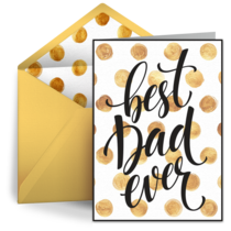 The Best Dad card image