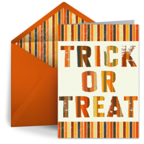 Trick or Treat! card image