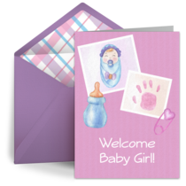 Scrapbook Girl card image