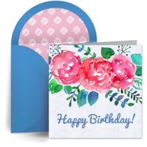 Bright Flowers for Mom card image