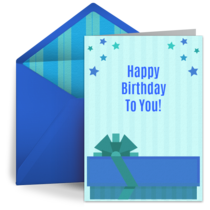 Present for Him card image