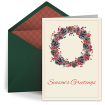 Holiday Charm card image