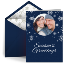 Season's Greetings card image