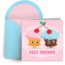 Friendly Cupcake card image