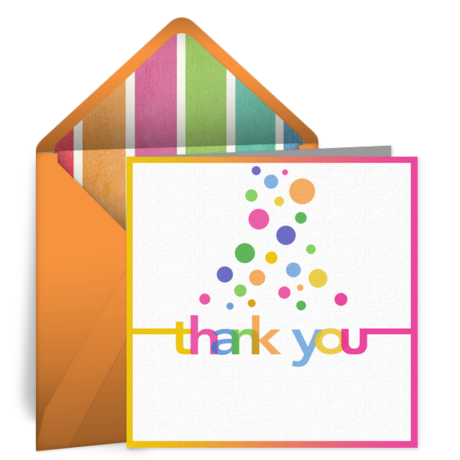 Thank You. Gallery Card Placeholder 210x210