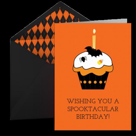 Halloween Happy Birthday Free Happy Halloween eCard