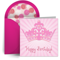 Birthday Tiara card image