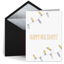 Silver & Gold Lights card image