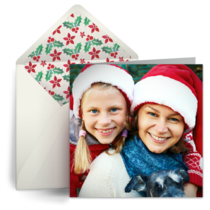 Upload Your Own Christmas Photo card image