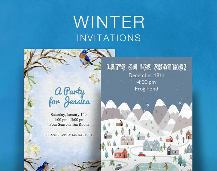Christmas Online Invitations | Punchbowl
