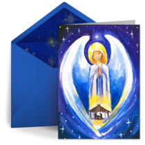 Nativity Angel card image