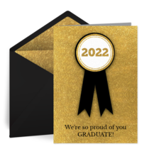 2020 Ribbon card image
