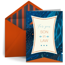 Son in Law Pattern card image