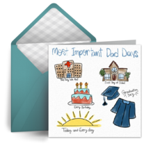 Dad Days card image