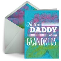 Daddy of My Grandkids card image