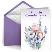 To My Grandparents card image