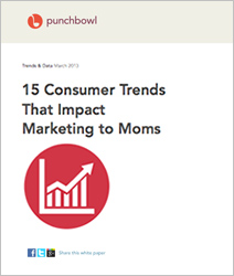 15 Consumer Trends That Impact Marketing to Moms