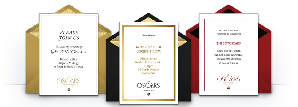 free oscars invitations oscars online invitations punchbowl