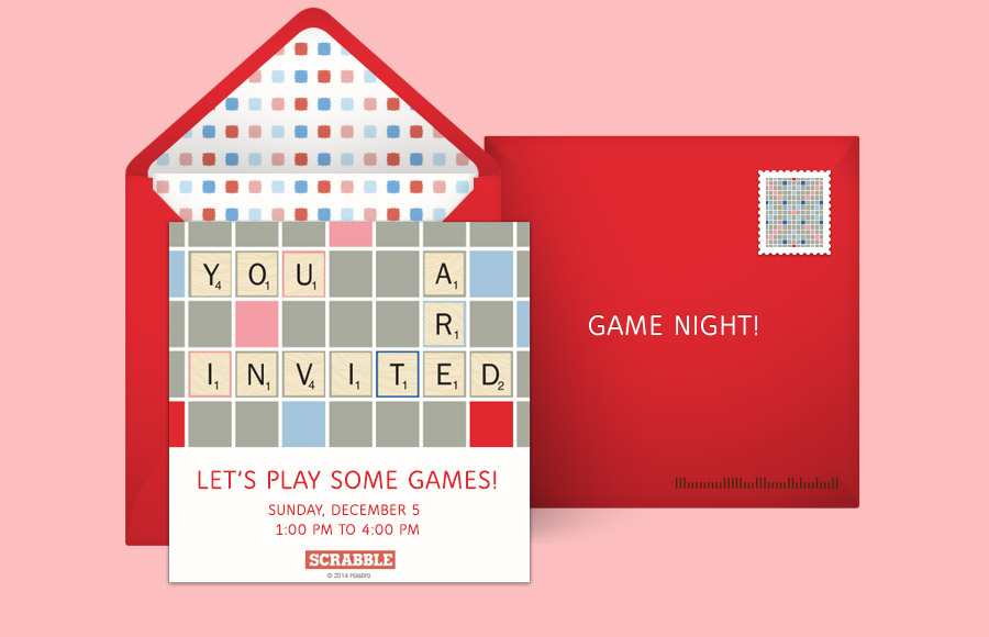 Plan a Scrabble Party!