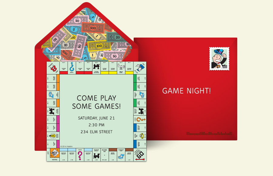 Free Game Night Invitations Game Night Online Invitations Punchbowl