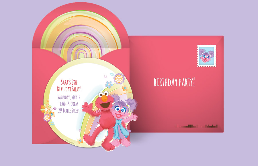 Plan a Elmo and Abby Party!