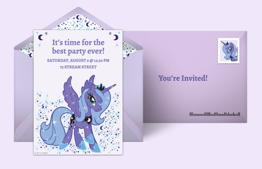 Plan a Princess Luna Party!
