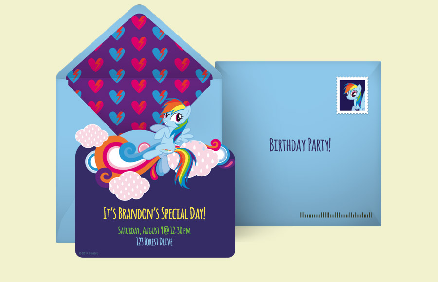 Plan a Rainbow Dash Party!