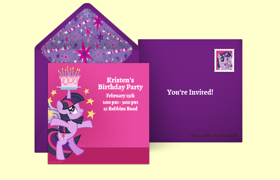 Plan a Twilight Sparkle Birthday Party!