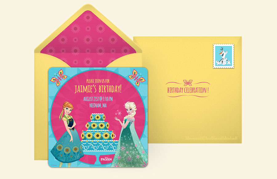 Free Disney Invitations Disney Online Invitations