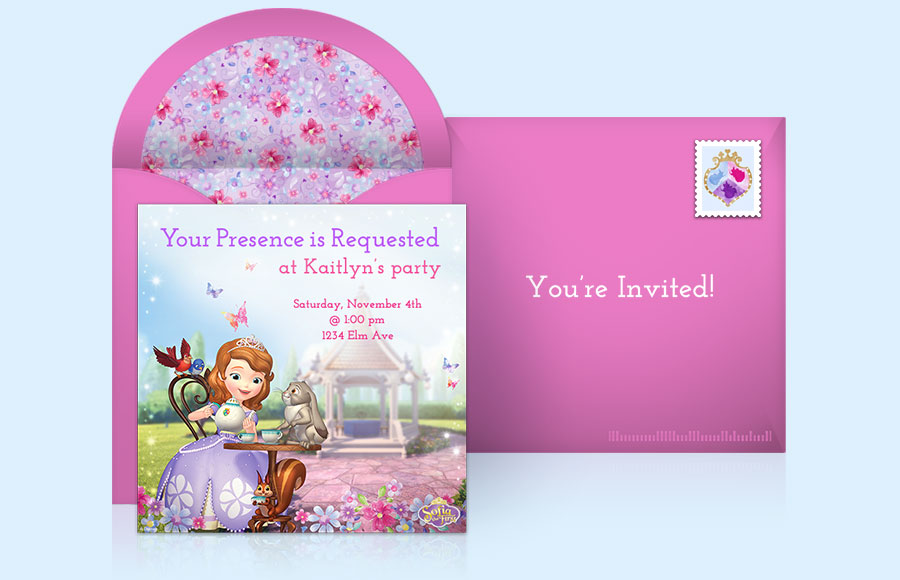 Plan a Princess Sofia Party!