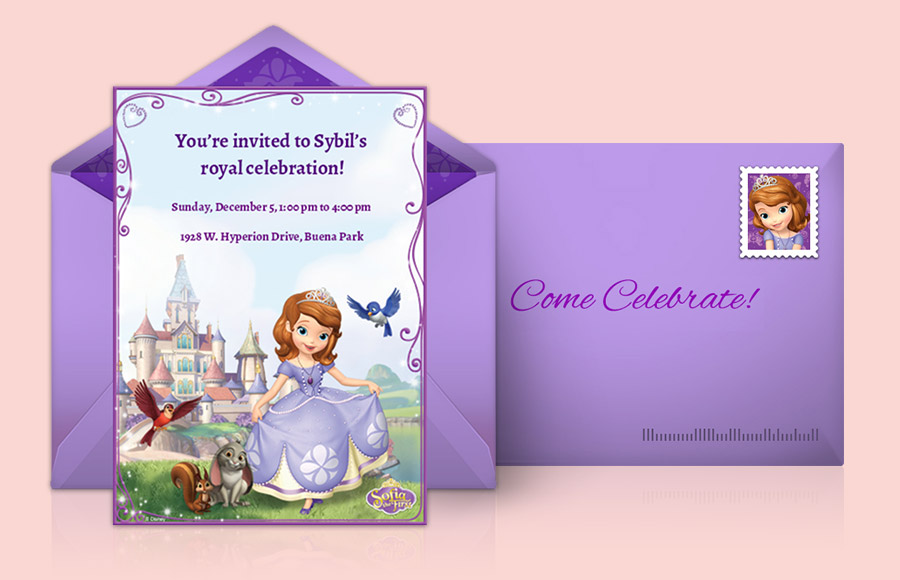 Plan a Sofia the First Party!