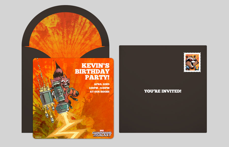 Plan a GOTG Rocket Raccoon Laser Party!