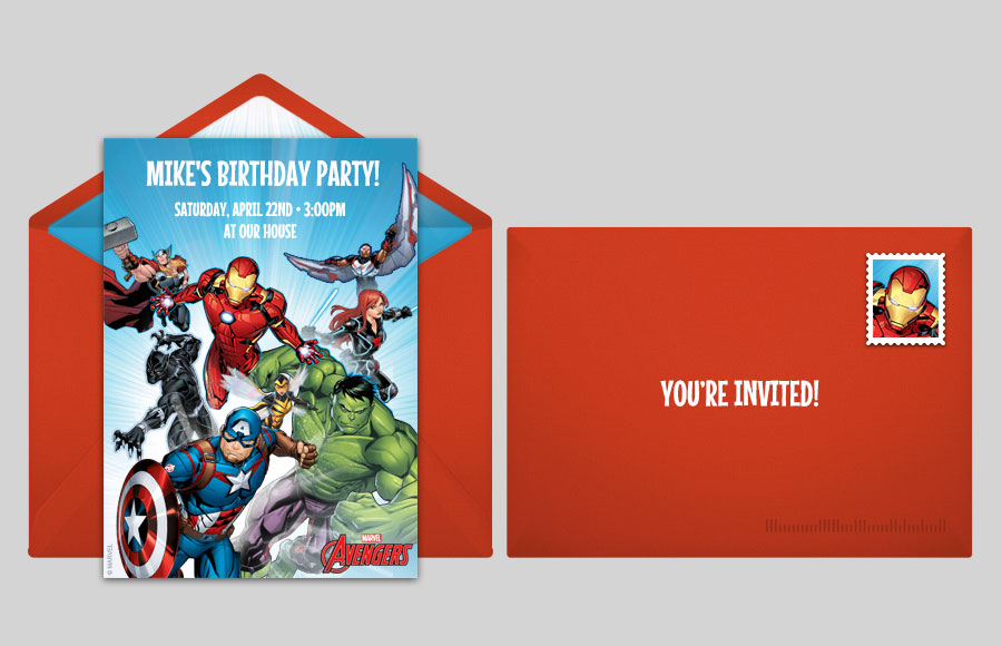 Plan a Avengers Group Party!