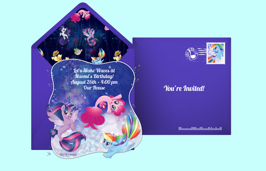 Plan a My Little Pony | Underwater Party!