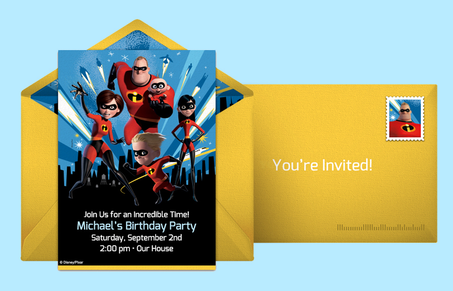 Plan a Incredibles 2 | Cityscape Party!