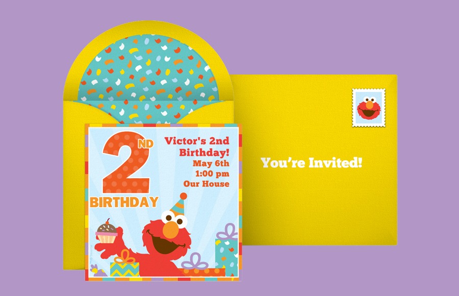 Plan a Elmo 2nd Birthday Party!