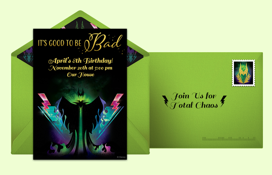 Plan a Maleficent Party!