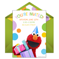 Elmo Party Hat